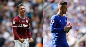 Grealish y Maddison son los dos objetivos del United. AFP/EFE