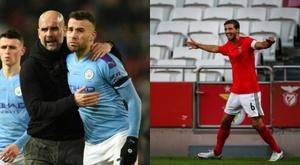 Benfica e City chegam a um acordo por Rúben Dias e Otamendi. AFP
