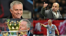 Top 10 managers with the most titles. AFP