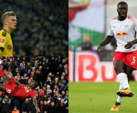 Haaland, Upamecano and Mane were all spotted by the same person. AFP
