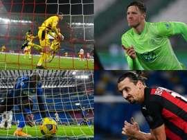 Les géants qui marquent des buts dans les grands championnats. AFP