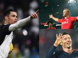 Le record de Cristiano menacé par Lewandowski et Haaland. EFE
