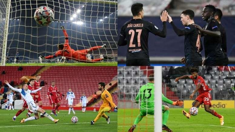 Los apuntes estadísticos de la Jornada 5 de Champions. AFP