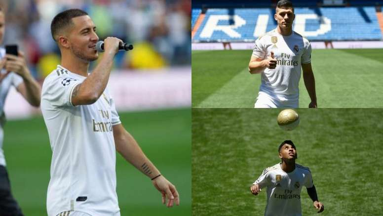 Real's summer signings have sent shockwaves through the footballing world. EFE