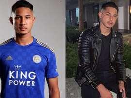 Ele chegou no Leicester em 2016 e sai sem estrear na primeira equipe. Instagram/fjefrib