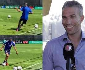 Robin Van Persie, contratado para a equipe técnica do Feyenoord. Captura/Feyenoord
