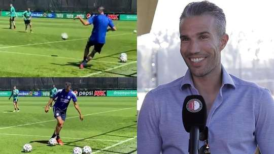 Robin Van Persie has returned to Feyenoord. Screenshot/Feyenoord