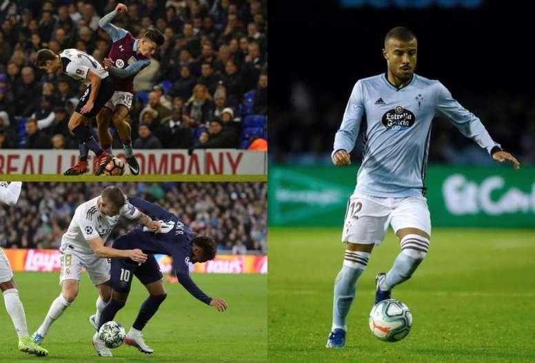 Top 10 jogadores que mais recebem falta. Montaje/AFP/EFE