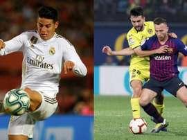 Estas son las posibles alineaciones de Barça y Madrid en Copa. AFP