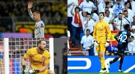 Thibaut Courtois é o goleiro com menos gols sofridos no Campeonato Espanhol. EFE/Rodrigo Jiménez