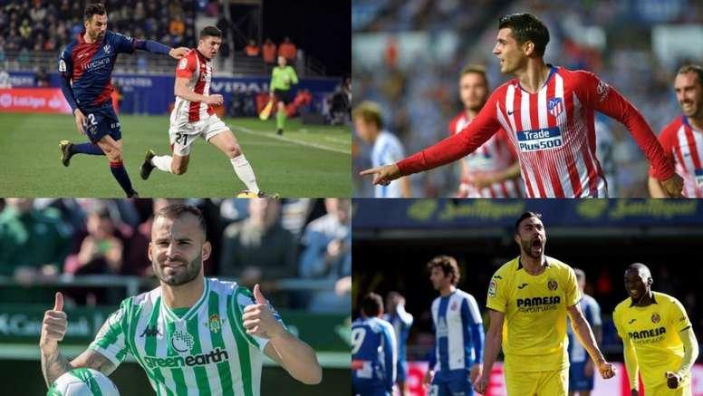 Les transferts de cet hiver en Liga. EFE