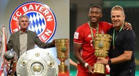 ¿El Bayern de Heynckes o el de Flick? Los números hablan. AFP