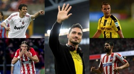 Five stars that regretted leaving their teams. EFE/AFP
