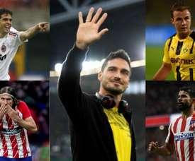 Cinco estrelas que se arrependeram de sair das suas equipes. EFE/AFP