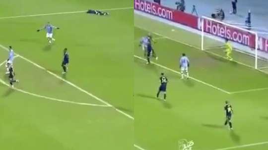 City won 4-1. Screenshots/MovistarLigadeCampeones