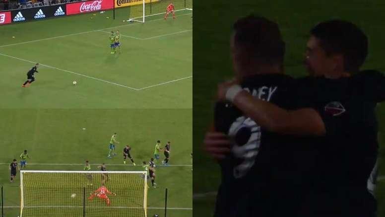 Rooney sorprendió con una asistencia al alcance de muy pocos. Capturas/MLS