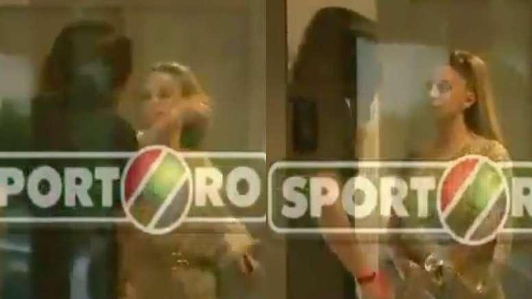 Surrealista episodio en el fútbol rumano. Capturas/ProTV