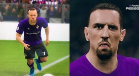 Ribéry tacle FIFA 20 sur Twitter. Twitter/FranckRibéry/PES2020