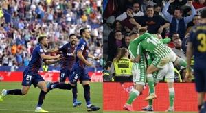 El Levante y el Betis le han hecho pupa a Barcelona y Real Madrid. AFP - EFE