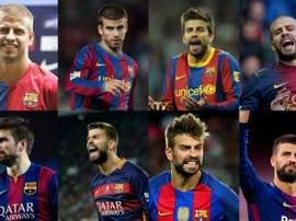 Piqué est décisif depuis son arrivée au Barça. EFE/AFP