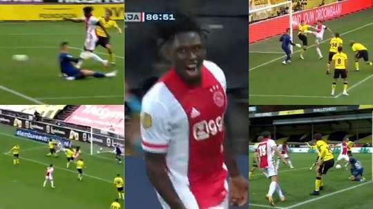 Ajax travolgente in Eredivisie. Captura