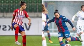 Ambas acumulan 14 goles en Liga. EFE/Laliga