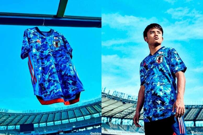 Kubo ha sido uno de los elegidos por Japón. Adidas