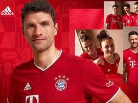 Bayern Munich will wear their new kit against Frankfurt. FCBayern