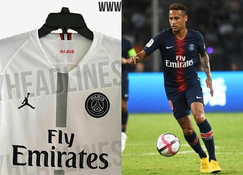 various styles order online sleek Les nouveaux maillots 'Air Jordan' du PSG pour la Ligue des ...