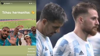 Argentina quedó tercera del Grupo C. Captura/Instagram/dg_douglas12/Eurosport