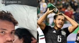 Dos Santos publie par erreur une photo avec le sosie de Kylie Jenner. Instagram/jona2santos
