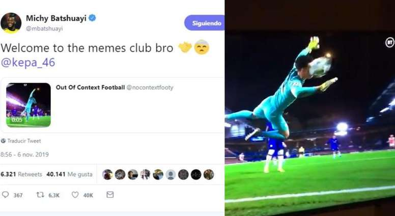 Batshuayi Welcomes Kepa To The Memes Club Besoccer