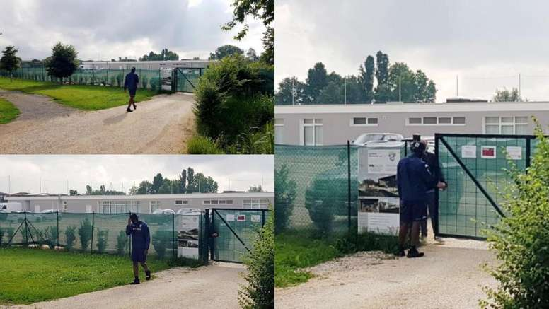 Balotelli se defendeu dos ataques do Brescia. EFE