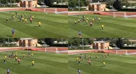 Héry, primer goleador de la Champions 20-21. Capturas/Youtube/Futbolconkarma