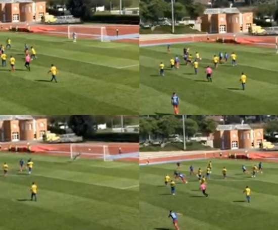 Conheça o autor do primeiro gol da Champions 2020-21. Capturas/Youtube/Futbolconkarma