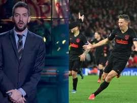 Quem pagou 8.500 euros pela camisa de Llorente em Anfield? Movistar+/AFP