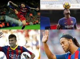 Neymar a atturé le plus de supporters lors de sa présentation. BeSoccer