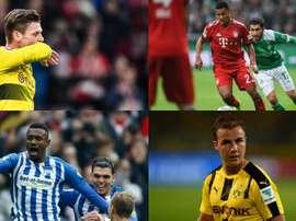 Jogadores com o contrato perto do fim na Bundesliga. BeSoccer
