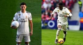 Brahim e Vinicius podem ser dupla no ataque merengue. AFP