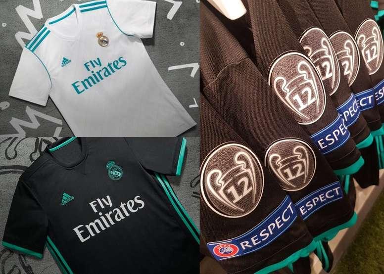 Todos los detalles y secretos de la nueva camiseta del Real Madrid ... 95c5b0c35177a