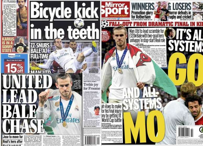 Reports in the English press claim serious interest in Bale from Manchester United. BeSoccer