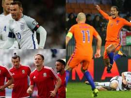 England, Holland and Wales are part of the 10. BeSoccer