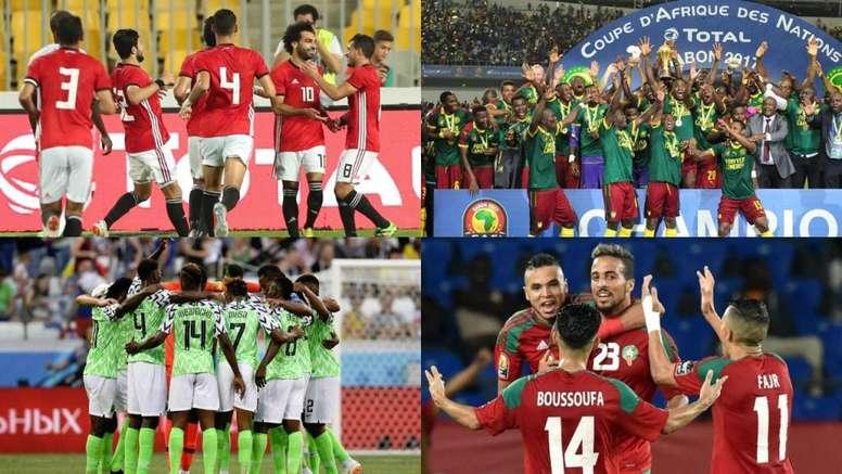 Guía rápida sobre la Copa África. EFE/AFP