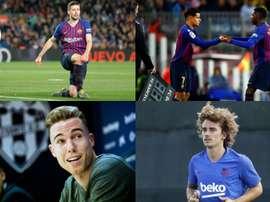 Griezmann, Coutinho, Dembélé... La France et le Brésil approvisionnent le Barça. EFE