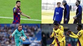 Comment Quique Setién peut-il gagner la confiance du Camp Nou dès son premier jour ? EFE