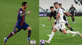 Quién lleva más goles: Messi vs. Cristiano. EFE