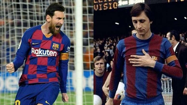 Messi possesses the winning mentality Johan Cruyff has. AFP/FCBarcelona