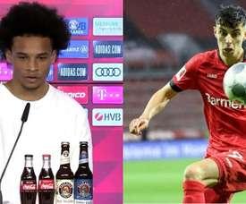 Sané pode ter dado um 'spoiler'. FCBayern/AFP