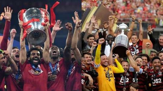 La valeur de l'effectif du Liverpool et Flamengo. AFP/EFE