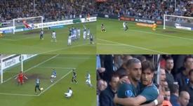 Un golazo, un despiste y un jugadón, el Ajax se asegura la Eredivisie. Capturas/PremierSports